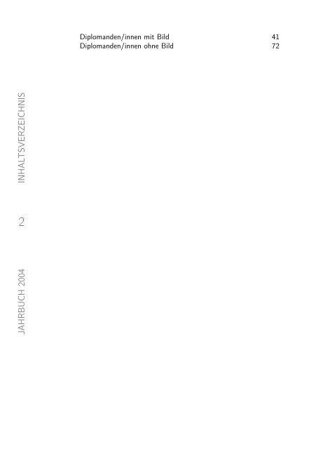 absolventenjahrbuch 2004 - Tag der Elektrotechnik und ...