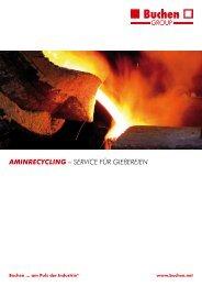 Aminrecycling - Buchen UmweltService GmbH
