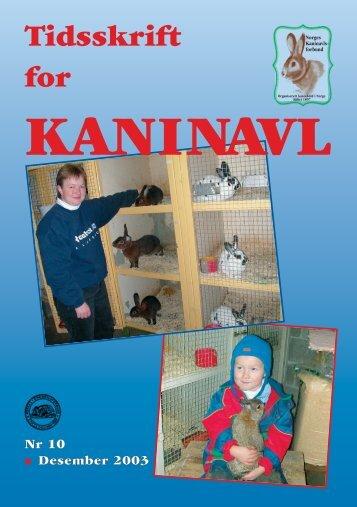 TK nr. 10 - Norges Kaninavlsforbund