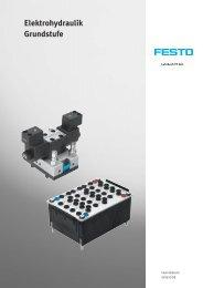 Elektrohydraulik Grundstufe - Festo Didactic