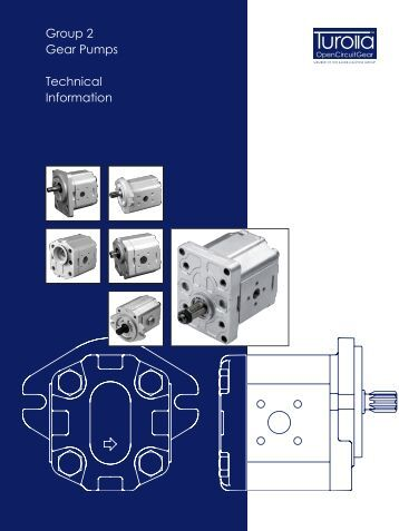 Group 2 Gear Pumps Technical Information - sauerbibus.de
