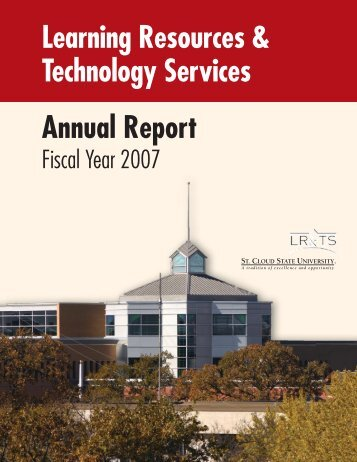 Annual Report - Learning Resources Services: St. Cloud State ...