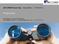 2012 SPSW Career Day