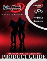 Point Blank Enterprises Product Guide 2012 - Point Blank Body ...