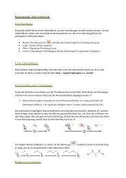 Anleitung MarvinSketch für Schüler