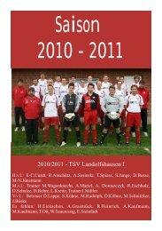 Saison 2010/2011 - TSV Landolfshausen