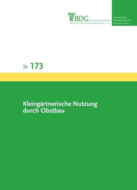 173 - Bundesverband Deutscher Gartenfreunde e. V.