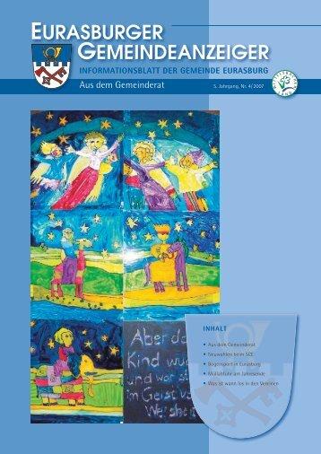 Gemeindeanzeiger 07-4.pdf - Gemeinde Eurasburg