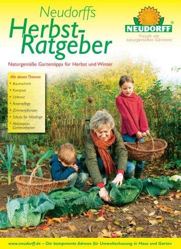 Naturgemäße Gartentipps für Herbst und Winter - Neudorff