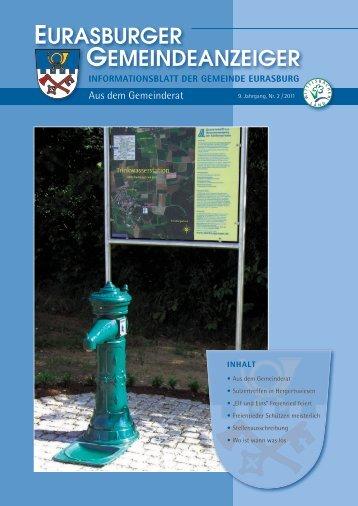 urasburgEr EmEindEanzEigEr - Gemeinde Eurasburg