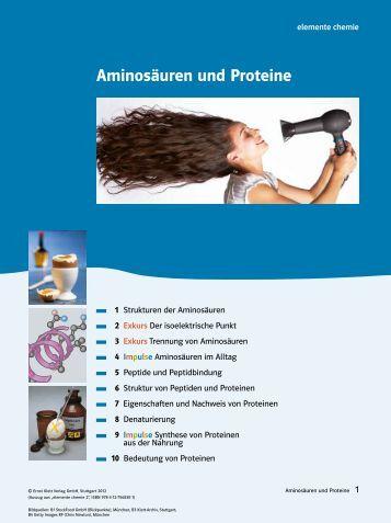 Aminosäuren und Proteine - Ernst Klett Verlag