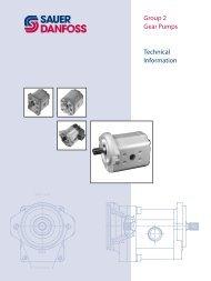 Sauer-Danfoss Group 2 Gear Pumps