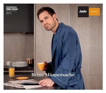 geht es zum Katalog - Jado Herrenwäsche