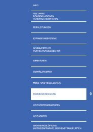 Katalog Wärmeverteilung - Buderus Heiztechnik AG