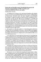 Ad-hoc-Gruppe 8 Kooperation und Qualifizierung als ... - SSOAR