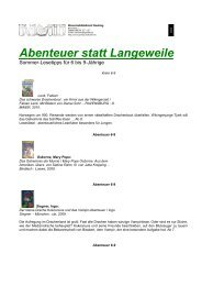 Abenteuer statt Langeweile - Wuermtal.Net