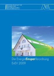 Die EnergieEinsparVerordnung EnEV 2009 - Hydraulischer Abgleich