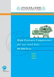 High Pressure Compressors for Air and Gas
