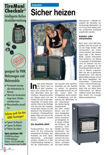 Sicher heizen - Blättern Sie im Frankana-Freiko-Katalog! - Frankana