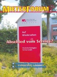 4 - Mieterverein Dortmund und Umgebung eV