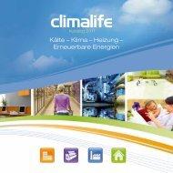 Kälte – Klima – Heizung – Erneuerbare Energien - Climalife - Dehon