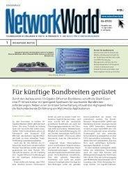 Artikel in der Network World - Magellan Netzwerke GmbH