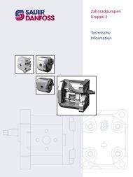 520L0836_Zahnradpumpen Gruppe 3 _TI_03 ... - Sauer-Danfoss