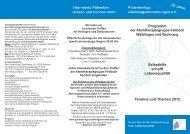 Programm Fellbach - Patientenliga Atemwegserkrankungen e.V.