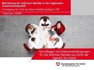 Vortrag Frau Dunja Sauer - LIGA Rheinland-Pfalz