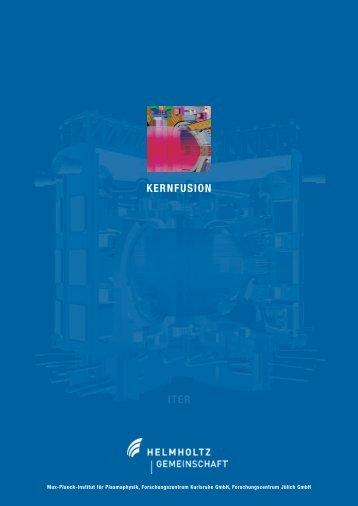 "Broschüre ""Kernfusion"" - KIT - PL FUSION"