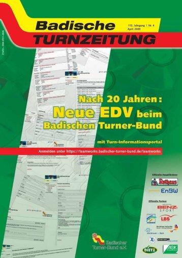 Aus den Turngauen - Badischer Turner Bund