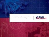Ihr stärkster Partner in der Mobilhydraulik - Sauer-Danfoss
