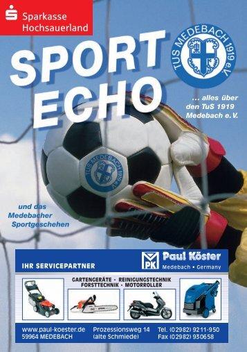 Ausgabe 12/2012 - Tus Medebach 1919 e.V.