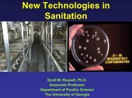 Sanitation and fumigation of hatcheries - Food Science and Human ...