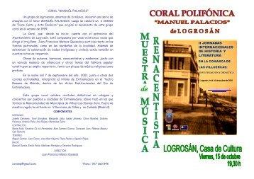 programa del recital - IES Mario Roso de Luna