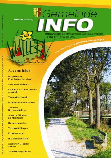 Folge 05-2005 - Wallern