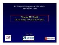 Terapia ARV 2009: de las guías a la - Departamento Clínico de ...