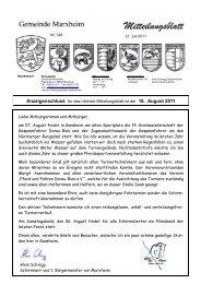 31. Juli 2011 - Marxheim