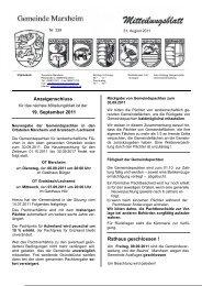 31. August 2011 - Marxheim