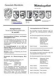 30. Juni 2011 - Marxheim