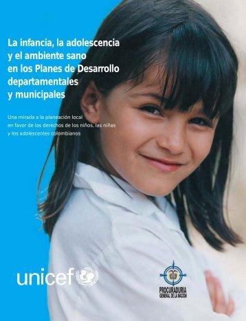 La infancia, la adolescencia y el ambiente sano - Procuraduría ...