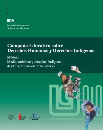 Indigenas-pobreza y medio ambiente - Instituto Interamericano De ...