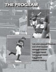the ohio baseball tradition - Community