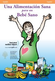 Una Alimentación Sana Bebé Sano