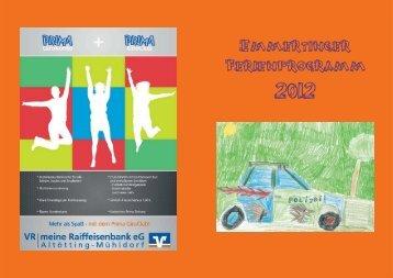 Ferienprogramm2012 - Gemeinde Emmerting