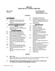 MINUTES REGULAR CITY COUNCIL MEETING - City of Watsonville
