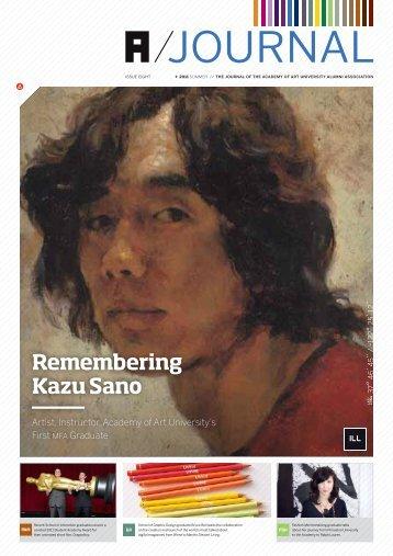 Remembering Kazu Sano - Academy of Art University: Alumni ...
