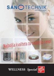 Wellness SANO Si - Sanotechnik
