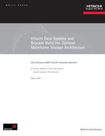 Build the Optimal Mainframe Storage Architecture - Hitachi Data ...