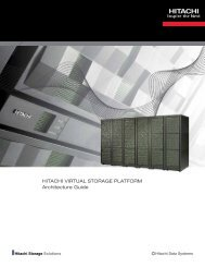 Hitachi Virtual Storage Platform Architecture Guide - Hitachi Data ...